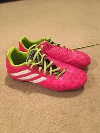 Pink Adidas Predators size 4