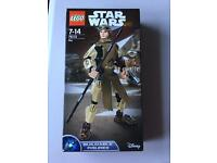 Lego Star Wars buildable Rey figure