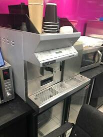Black & White coffee machine