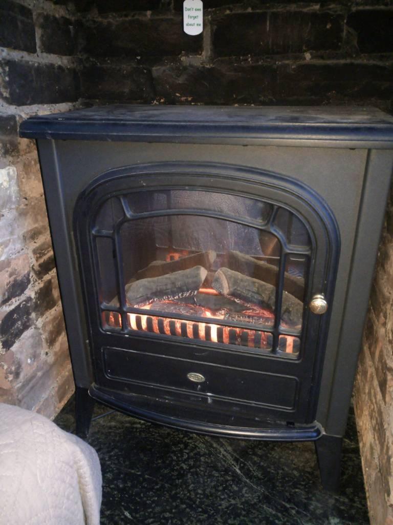 Dimplex CLB20R Club traditional burner electric heater