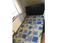 Single bed with mattress. Good condition