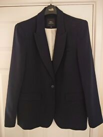Next tailoring ladies navy suit jacket, size 18, never worn