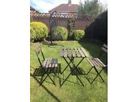 Bistro Garden table & two chairs