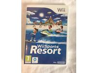 Wii Sport Resort and Wii Play game bundle
