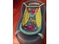 Fisher price baby bath with support