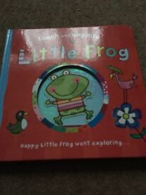 Touch and explore little frog book