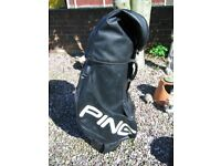 Ping black soft leather excellent condition