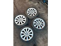 2014 AUDI A1 ALLOY WHEEL AND TYRES 215/45R16