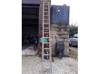 Ladder wooden 3.6 m