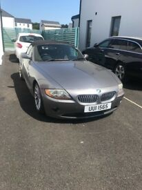 Well maintained BMW Z4. 2004. 3 Litre engine, very rare! Low mileage.