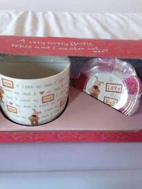 Mother's Day cup and saucer gift