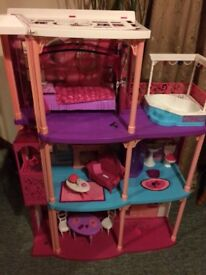 Barbie Dreamhouse with sounds