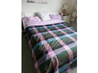 NEW WHITE DOUBLE BED