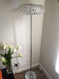 John Lewis Contemporary floor lamp ideal for living area. Has never been used. Excellent condition