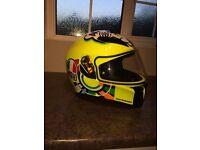 AGV motorbike helmet K-3 Rossi replica