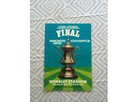 1976 FA CUP FINAL PROGRAMME for sale  Nailsea, Bristol