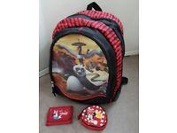 Back pack Kung fu Panda