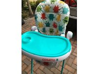 Cosatto Cuddle Monster High Chair