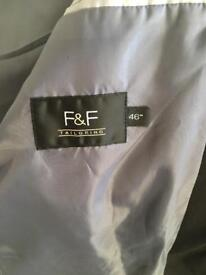 Men's black suit F&F tailoring