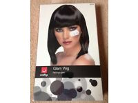 Glam fancy dress wig new in box