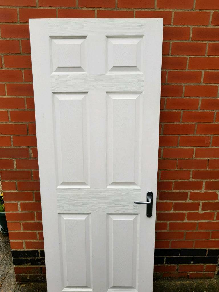 Interior Doors 6 No With All Fittings Hinges Etc
