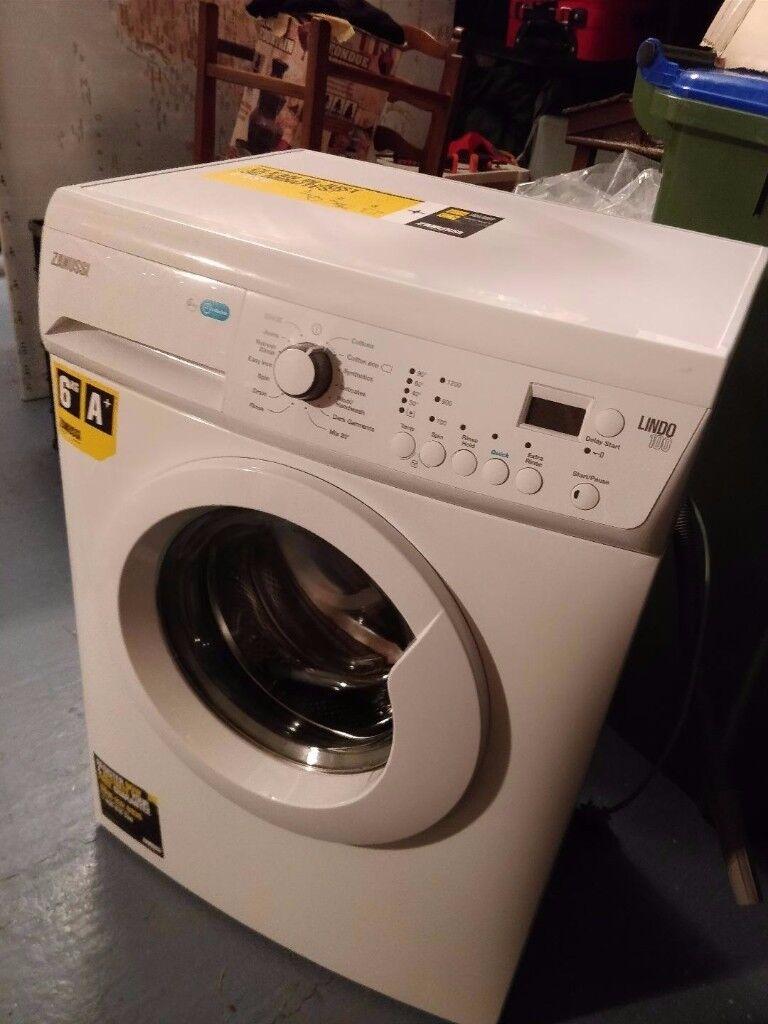 As new Zanussi washing machine