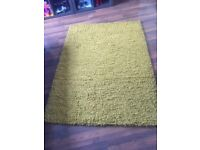 Rug wool mustard colour like new