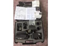 Night vision Nightsite Ns 50 with upgrades Kpc E700 camera + lithium ion battery