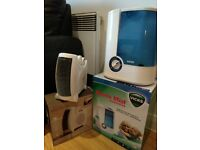 ***Vicks Humidifier + Heating/Cooling Fan (both hardly used) ***
