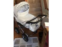 Emmaljunga pram / pushchair from birth -3-4 and extras lovely condition