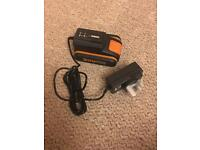 Worx 20v battery with charger new