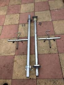 Vauxhall combo roof rack + ladder ties