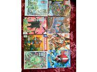 Comics magazine large bundle Judge Dread