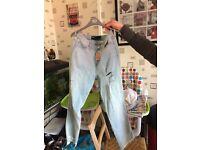 Ladies holster jeans