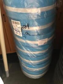 Underfloor heating edge insulation rolls 25meter long polypipe
