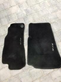 Mazda RX8 front velour floor mats