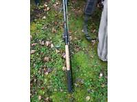 Maver Abyss Feeder fishing rod with Shimano Reel