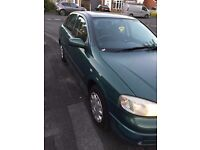 Automatic 2002 Vauxhall Astra hatchback 4doors in green 1598cc