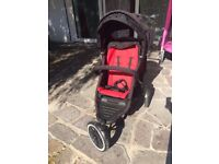 Phil and teds sports pram. Double buggy with baby cocoon.