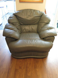 Large Green Comfortable Chairs