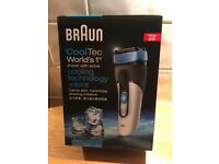 Braun CoolTec CT2s-w mens electric shaver