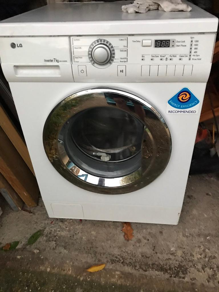 Lg Washing Machine 7kg In New Milton Hampshire Gumtree