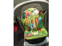 Fisher Price Rainforest Baby Swing - as new purchased 02.08.16