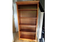 LOVELEY QUALITY 6FTX 3FT BOOKCASE 4 SHELVES(AJUSTABLE)