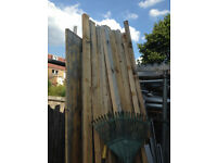 wood for fence multiple use