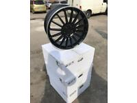 "4 19"" alloy wheels alloys rims tyre tyres 112 audi seat Skoda Vw Volkswagen Mercedes viano"