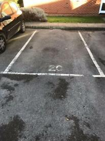 Cheap parking space