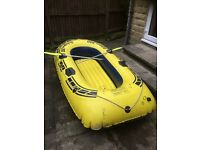Inflatable play boat