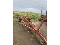 Boat trailer with landrover axle