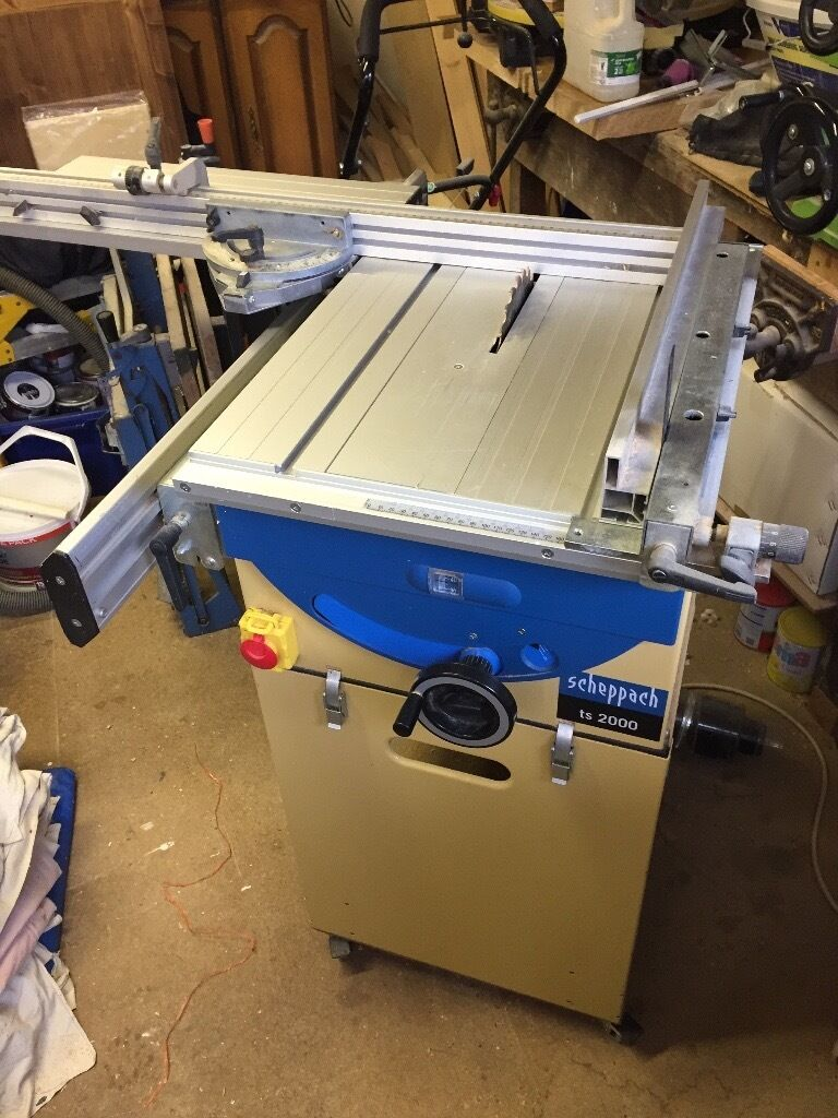 scheppach ts 2000 table saw in rustington west sussex. Black Bedroom Furniture Sets. Home Design Ideas